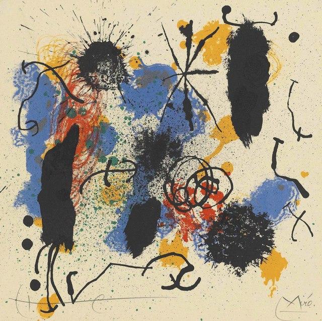 Joan Miró, 'Je travaille comme un jardinier', 1964, Christie's