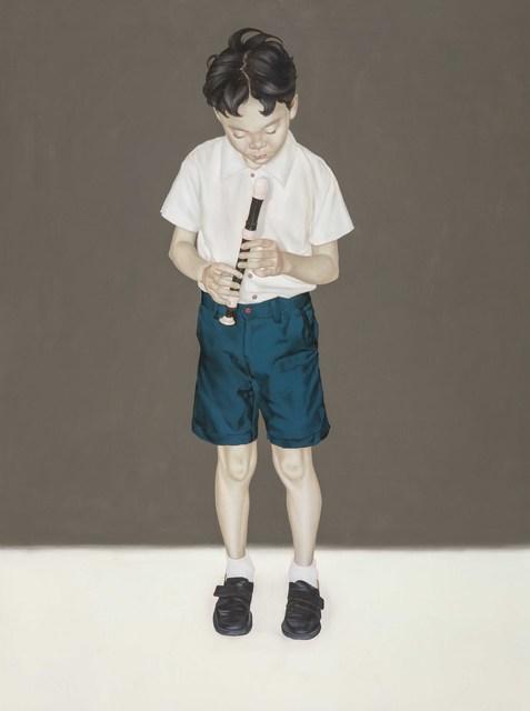 , 'Recorder Practice III,' 2015, Aki Gallery