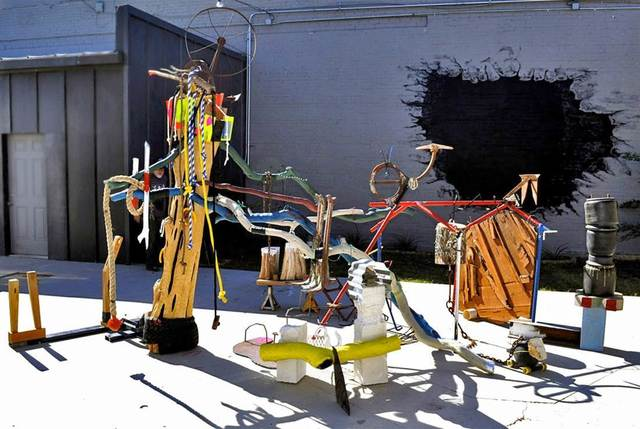 , 'Everybody Hollin Goat,' 2014, International Sculpture Center