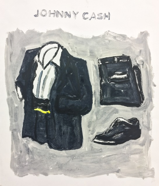 , 'Johnny Cash,' 2017, Cross Contemporary Art
