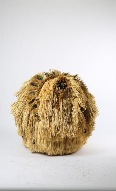 , 'The Intermediate – Ceremonial Peacock Ball,' 2015, dépendance
