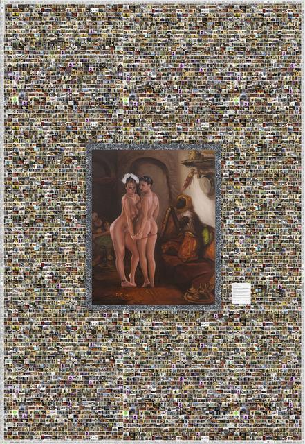 , 'Oriental Interior or Bunnies R Us,' 2013, Leila Heller Gallery