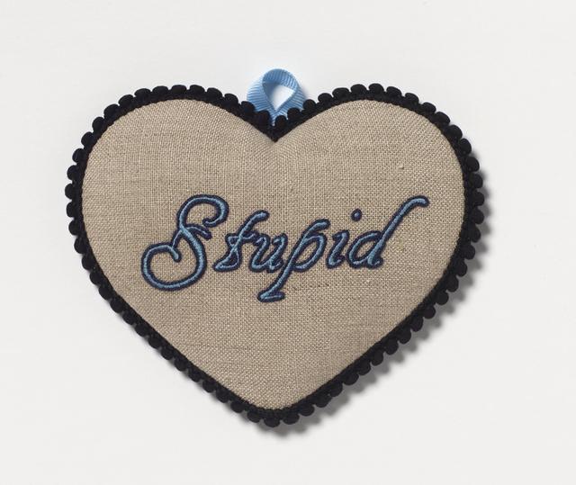 , 'Stupid,' 2018, Coagula Curatorial
