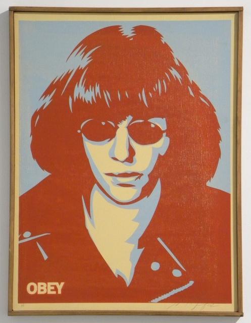 Shepard Fairey (OBEY), 'Ramone Canvas', 2002, Gregg Shienbaum Fine Art