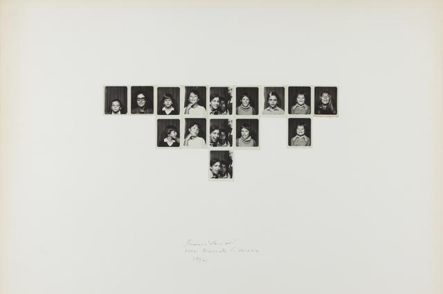 , 'Esposizione in tempo reale N.4 Lascia su queste pareti una traccia fotografica del tuo passaggio,' 1972, P420