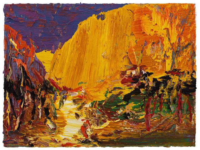 , 'Songshan mountain autumn,' 2018, CFHILL