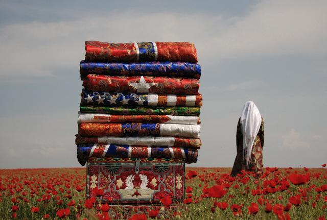 , 'My Flags / Korpeshe (Blanket) Flags,' 2010, Auroom Art