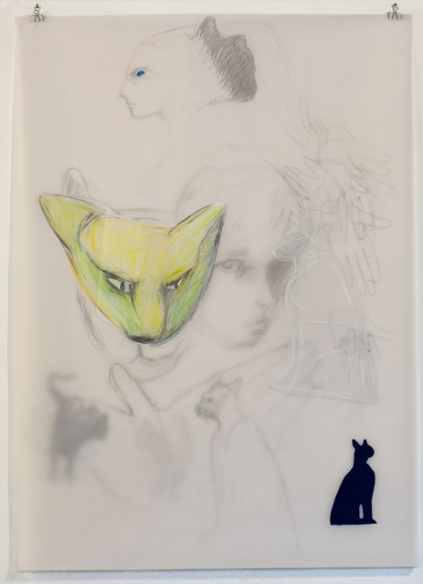 , 'L.T. with Stalking Cat,' 2016, Fort Worth Contemporary Arts