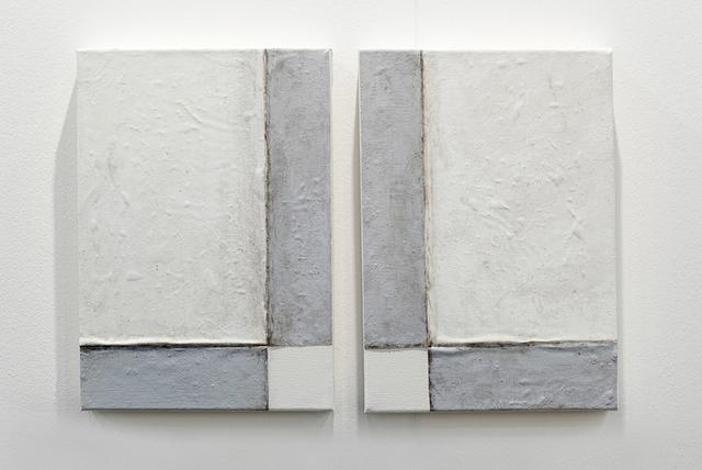 , 'Arquitectura desdoblada (dos esquinas),' 2017, Steve Turner
