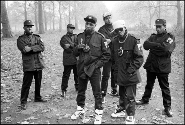 , 'Public Enemy In London,' 1987, Getty Images Gallery