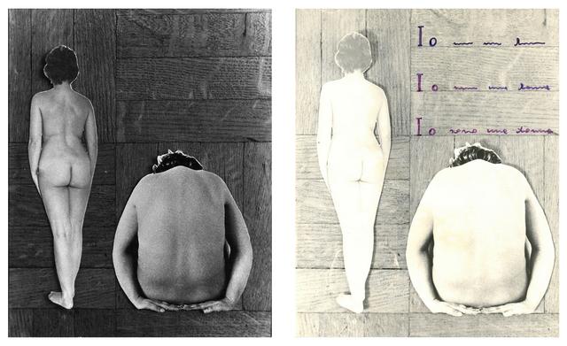 , 'Io sono una donna,' 1976, Frittelli Arte Contemporanea