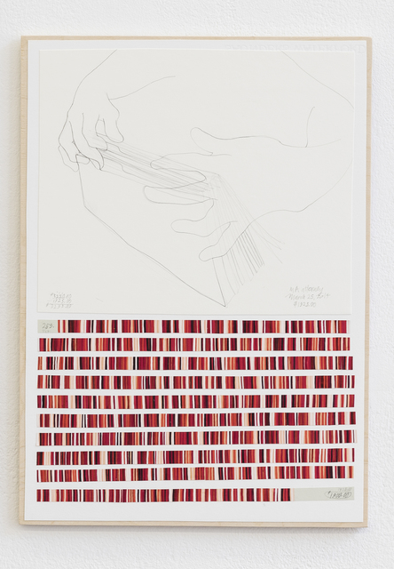 , 'Income´s Outcome Nr. 263,' ongoing since 2014, Galerie Hubert Winter