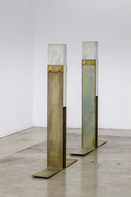 Toni Schmale, 'stehende figur t / w', 2019, Christine König Galerie