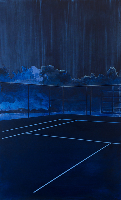 , 'Court 4 (Loose Park),' 2016, Joseph Nease Gallery