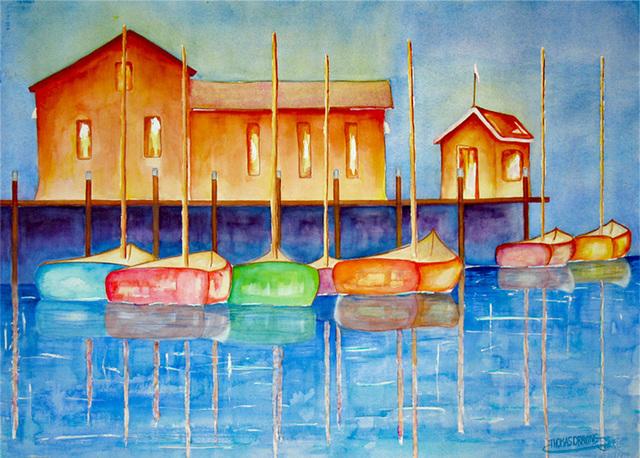 , 'Harbor Lights,' 2011, Light Space & Time