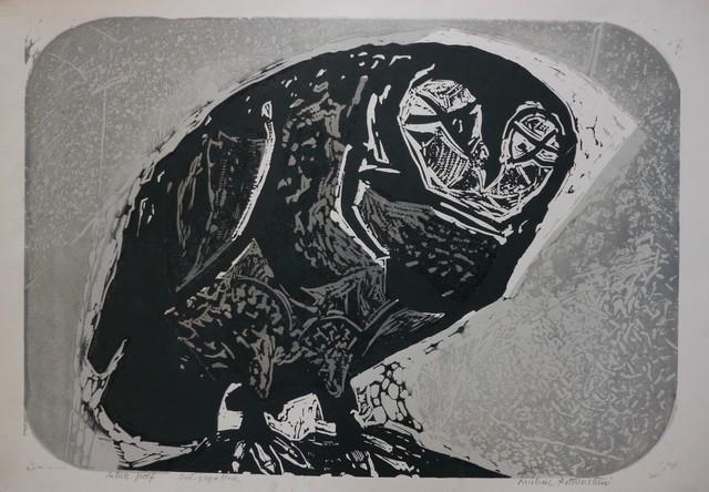 , 'The Owl I,' 1956, Osborne Samuel