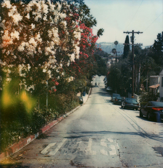 Carmen de Vos, 'Hollywood #23 - from the series US Road trip Diary ', 2007, Photography, Archival pigment print on canvas, photo based on an expired Polaroid, Instantdreams