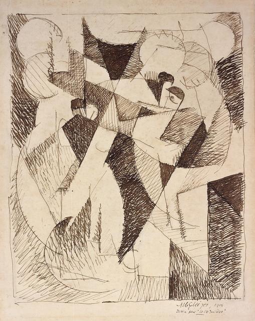 , 'Le 14 Juillet,' 1914, Galerie Zlotowski