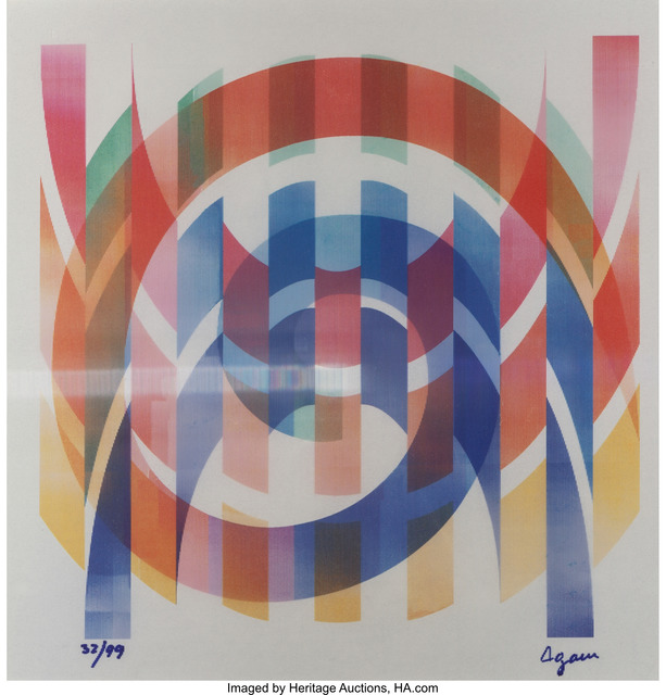 Yaacov Agam, 'Arches', Heritage Auctions