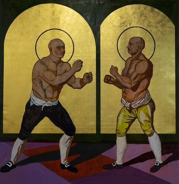 , 'St Jack Broughton vs St George Stevenson,' 2019, Gallery 1957