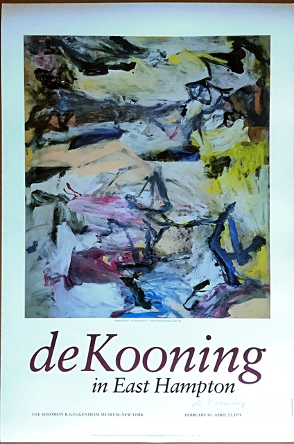 , 'de Kooning in East Hampton (Hand Signed), from the Alan York Estate,' 1978, Alpha 137 Gallery