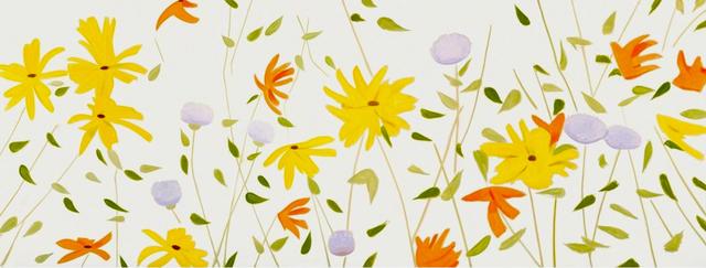 Alex Katz, 'Summer Flowers Canvas', 2018, Frank Fluegel Gallery