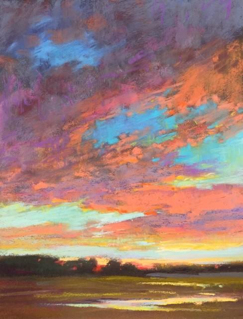 , 'Sky Colors,' 2018, 530 Burns Gallery