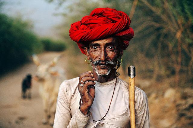 , 'RABARI SHEPHERD, RAJASTHAN, INDIA,' 2009, Huxley-Parlour