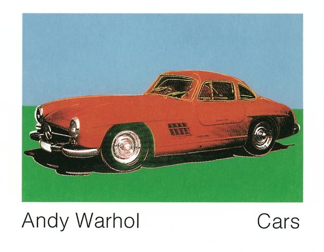 Andy Warhol, '300 Sl Coupe (1954) (Lg)', 1989, ArtWise