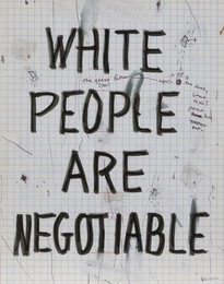 White People Are Negotiable