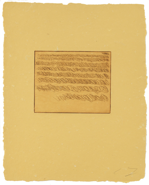 , 'Note II,' 1967, Susan Sheehan Gallery