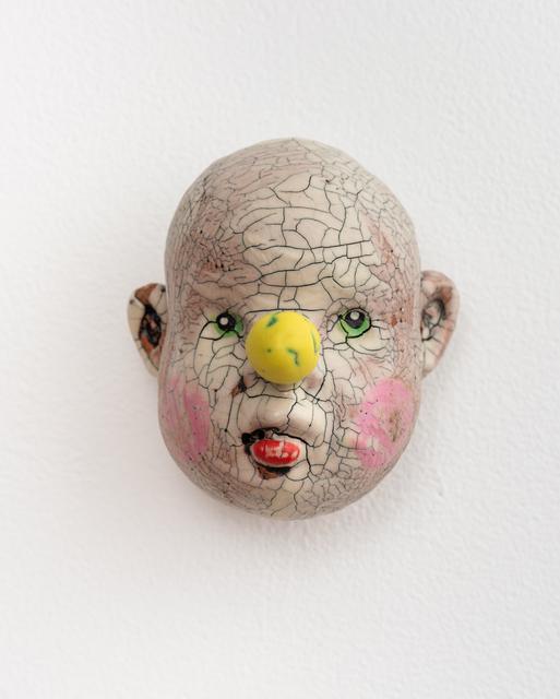 , 'Medium Doll Head, Yellow Nose,' 2018, Eutectic Gallery