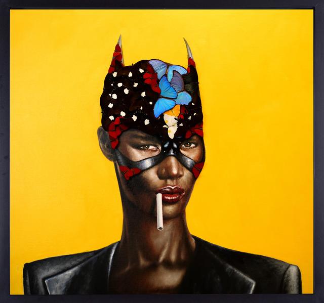 SN, 'Grace Jones - Yellow', 2018, Eden Fine Art
