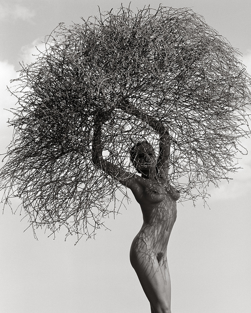 , 'Neith with Tumbleweed, Paradise Cove,' 1986, Atlas Gallery