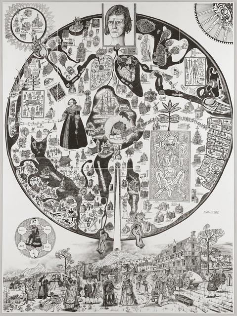 , 'Map of Nowhere,' 2008, Shapero Modern