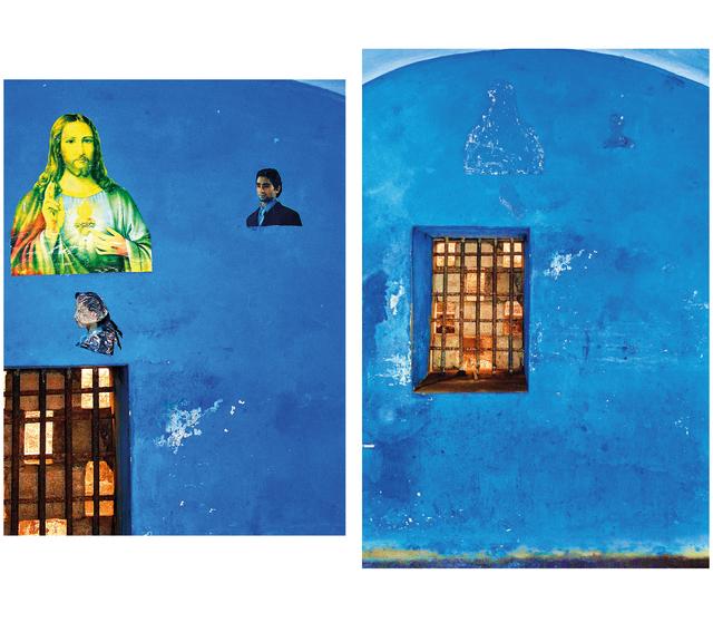 , 'Blue Cell/Blue Christ,' 2010, MARUANI MERCIER GALLERY