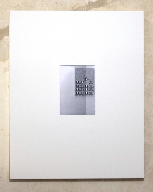 , 'Untitled (Chapeau bas, back #2),' 2012, Clages