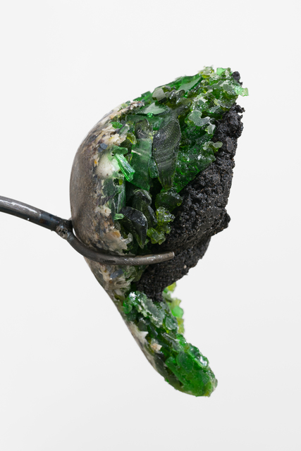 , 'Liver (soil sample / green glas),' 2018, Wentrup