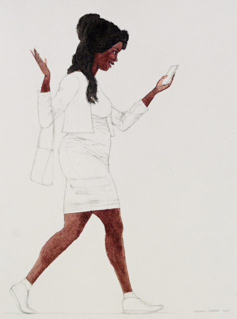 Kimathi Donkor, 'Notebook XXIV', 2018, Ed Cross Fine Art