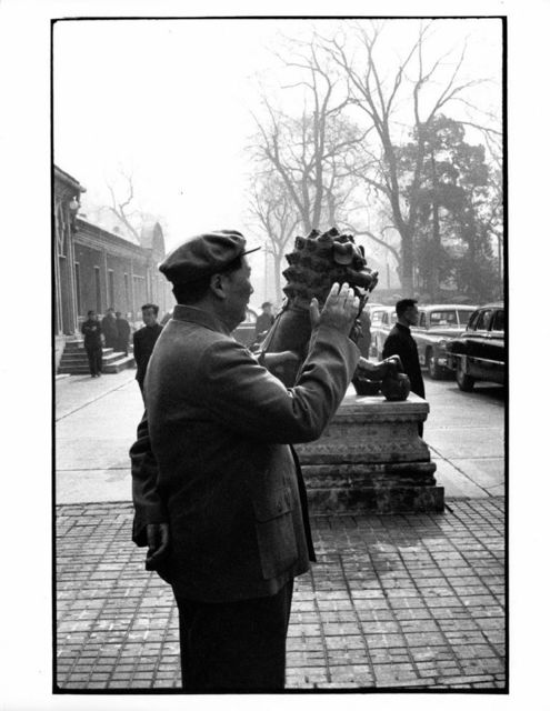 , 'Chairman Mao strolling outside his official residence, Beijing,' 1957, Koru Contemporary Art