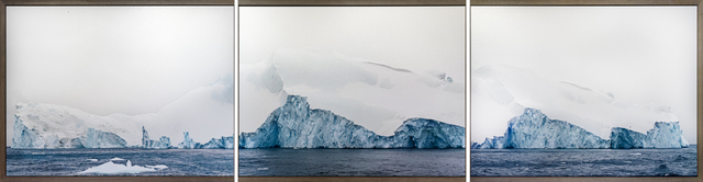 Henrik Saxgren, 'Icebergs, The Disco Bay', 2015, Photography, Hahnenühle Photo Rag Metallic, DiaMount on acrylic, Hans Alf Gallery