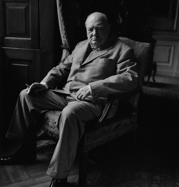 Toni Frissell, 'Winston Churchill', ca. 1945, Staley-Wise Gallery