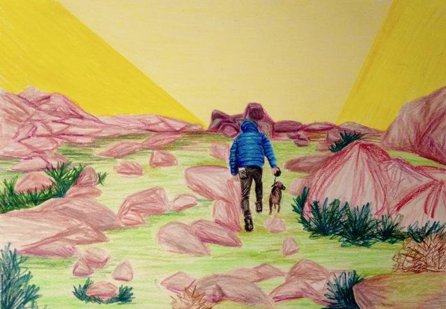 , 'Friday walk,' 2018, Kolja Kramer Fine Arts
