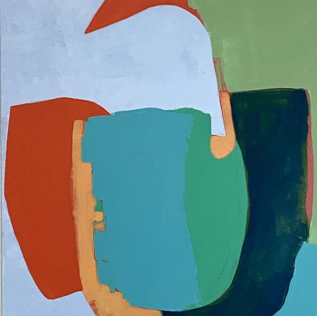 , 'Blue Balance,' 2020, SHIM Art Network