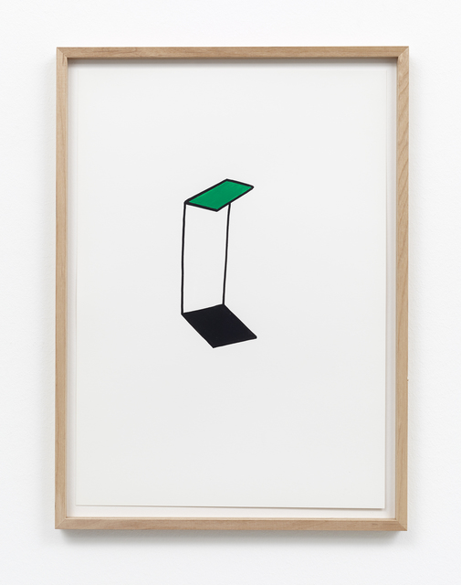 , 'Gedankenräume,' 2009, Galerie Christian Lethert