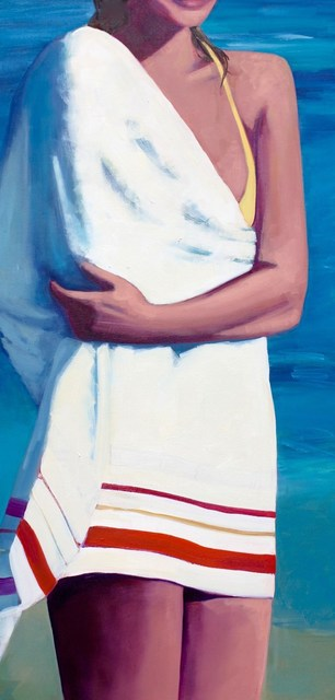 TS Harris, 'Beach Towel', 2016, Painting, Oil on canvas, Quidley & Company