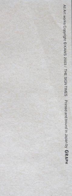 KAWS, 'Untitled (The Sign Times)', 2003, Ephemera or Merchandise, Offset lithograph, EHC Fine Art