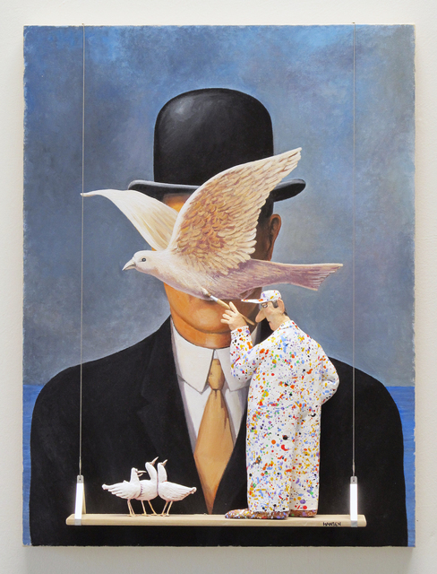 , 'GMIA: Magritte - Man in a Bowler Hat (1964),' , Water Street Gallery