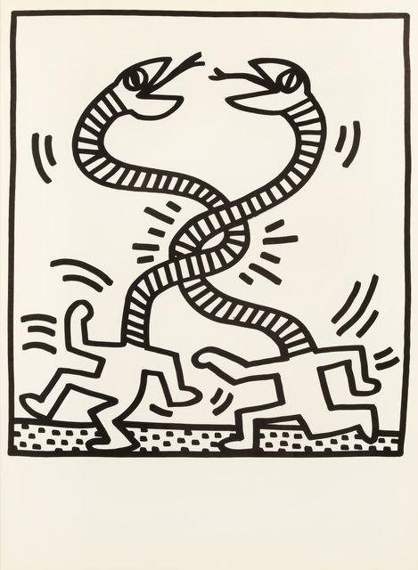 Keith Haring, 'untitled (Snake)', 1983, Chiswick Auctions