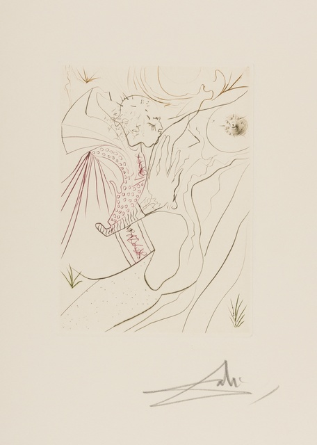 Salvador Dalí, 'Le Décameron (Michler & Löpsinger 552-561)', 1972, Print, 10 etchings printed in colours on Arches paper, Forum Auctions